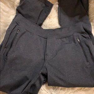 Lululemons Men's Dark Grey Sweatpants